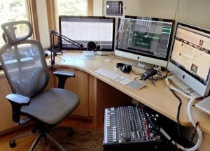 Podcast Production Setup