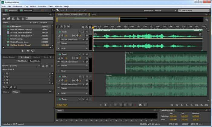 Adobe Audition Podcast Recording Software